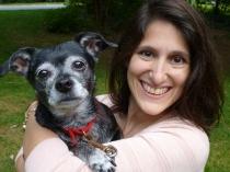 Jen Katz and Tippy